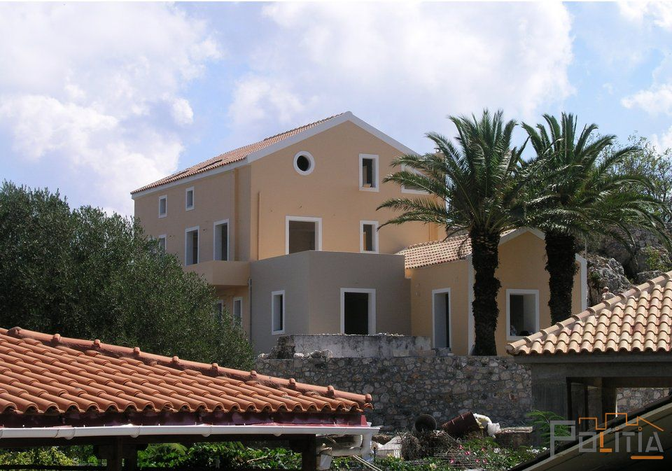 Composite Building , Kefalonia Island, Greece